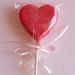Sevgililer Günü için Lolipop Çikolata