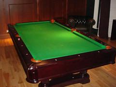 Billiards room at Hawke + Hunter, Edinburgh