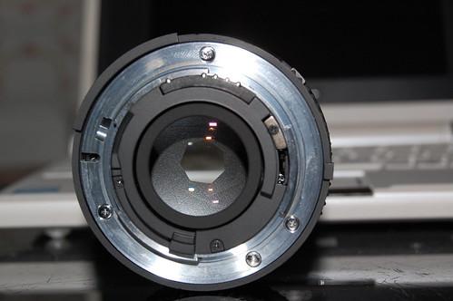 Trasera Nikkor 50mm 1.8D (f/11)