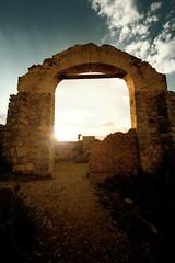 Ghost Town (Shuck) Tags: sunset sun sol mexico atardecer ruins flickr pueblo ruinas ghosttown realdecatorce destello realde14 sanluispotosi pueblofantasma pueblomagico dflickr180307