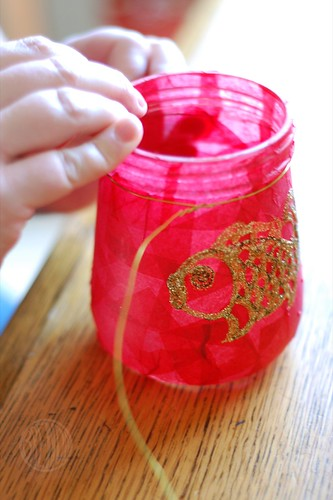 wiring jar for lantern craft