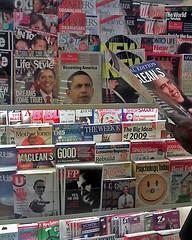 Obamarama hits newsstand in Toronto (asianz) Tags: toronto cover hype newsstand magazines obama inauguration obamania obamarama chapterindigo