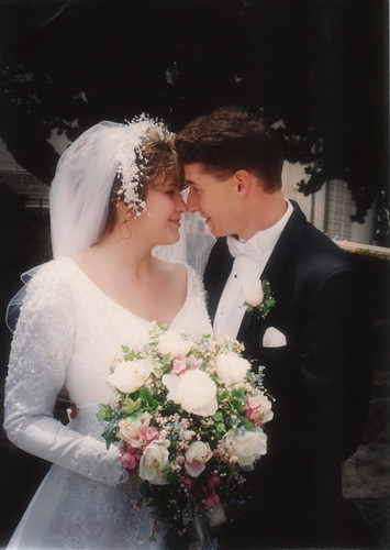 1995 Brent and Krissi Wedding 2