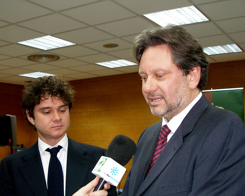 Sean Ferrer Hepburn y Luca Dotti