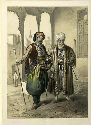 Jenizaro y mercader 1851