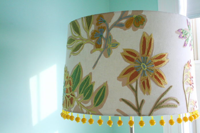 Another lampshade in nursery