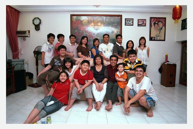 2009 January Kueh Fah Family Portrait
