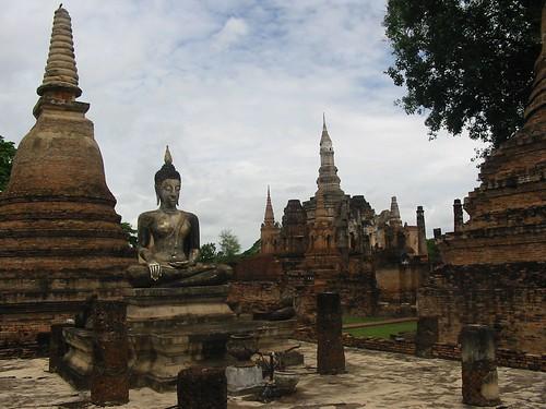 De pracht van Wat Rachaburana