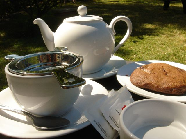 Tea at Lentas Maravillas, in Colonia de Sacramento, Uruguay