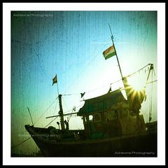The Boat of Versova (AdreWine) Tags: india bombay bom mumbai fishmarket versovabeach