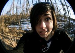 Vivi. (vivi EDGE;) Tags: park woods fisheye bowdoin