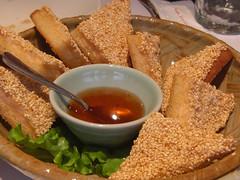 瓦城七張店_芝麻酥蝦餅