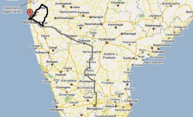 Mumbai Bangalore