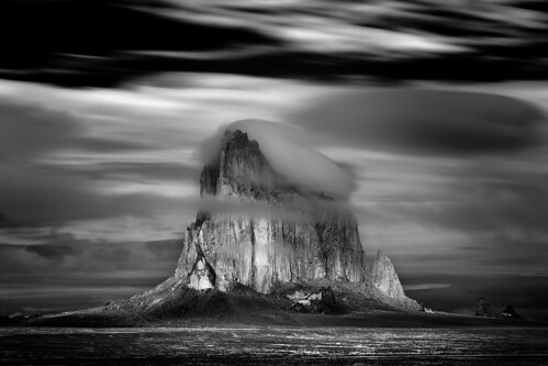 Shiprock Storm, Photograph by Mitch Dobrowner, All Rights Reserved