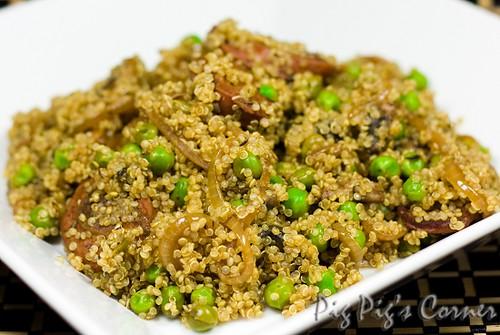 quinoa chorizo