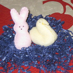 Bunny and Chick Peeps