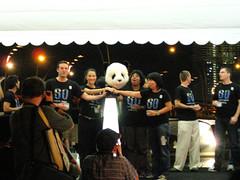 Panda on Stage