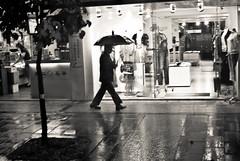 street spirit (summerrunner) Tags: street city portrait people bw reflection tree rain 35mm lights spring nikon flickr snapshot taiwan adobe april taipei nikkor 2009 生活 lightroom d80