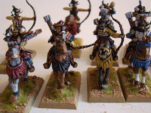 West Wind painted miniatures samurai