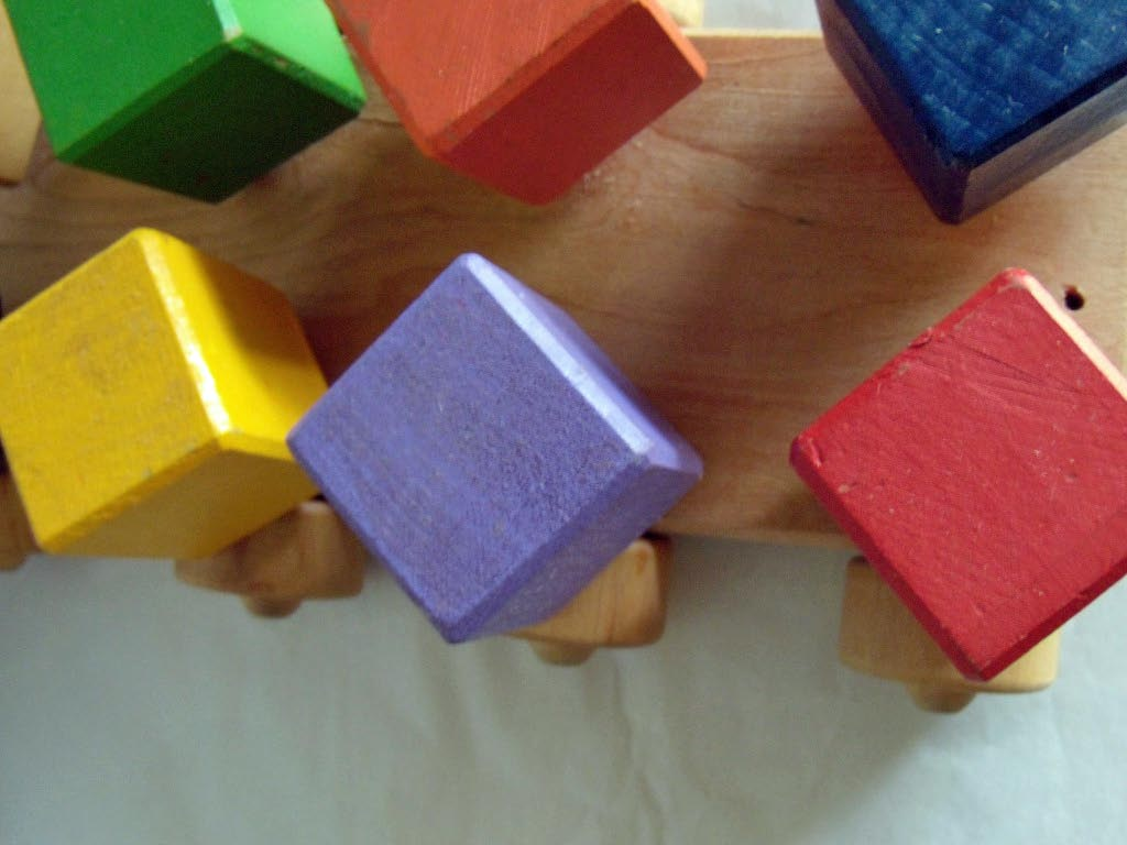blocks of color