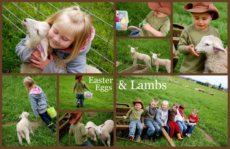 Easter Eggs & Lambs