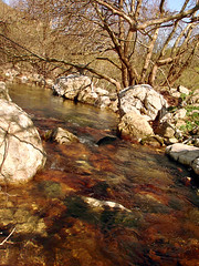 The river that almost got my name! (egotoagrimi) Tags: trekking river ikaria canyon valley kampos  rivertrekking agrimi manganesedioxide larisses  voutsides