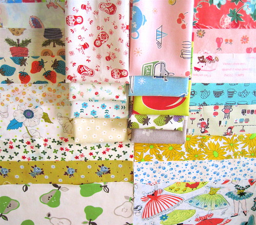 Vintage fabric love from Nanette