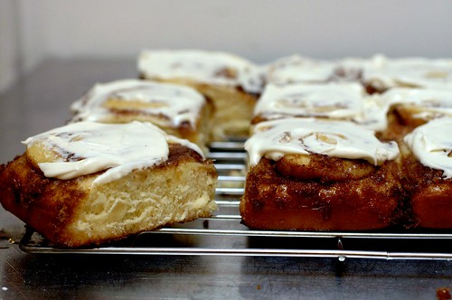 cinnamon swirl buns + so much news | smitten kitchen