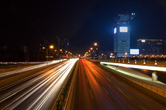 Chang ' An  Ave...Zooommm (jmdiocos) Tags: china longexposure erick cgb steadfast traillights beijingstreet popbeijing