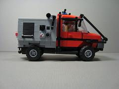 Brush Truck #2 (12) (Ricecracker.) Tags: truck fire bush lego fig mini brush figure vehicle minifig minifigure wildland minifigscale