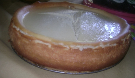 Lemon  Ricotta Cheesecake 2