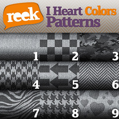 Reek - I Heart Colors Belt - Pattern Options