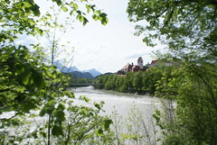 Fssen (TristanB57) Tags: lake mountains bayern bavaria scenery scenic rowing rowboat schloss ludwig hohenschwangau fssen allgu alpsee schwangau schwansee hohes