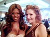 Laverne Cox and Calpernia Addams and the 2009 GLAAD Media Awards