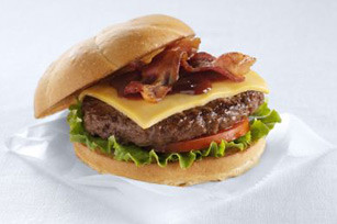 All American BBQ-Bacon Cheeseburgers
