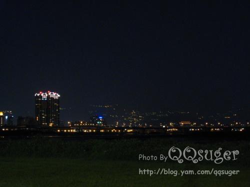 你拍攝的 華江橋夜景。