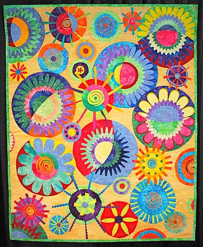 Cinda's circles by Karen Pharr