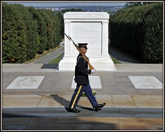 "Tomb of the Unknowns (""Unknown Soldier"") - U.S. (Tony Fischer Photography) Tags: usa cemetery grave america army us war peace unitedstatesofamerica tomb guard navy honor mia marines arlingtonnationalcemetery airforce pow veteran unknownsoldier memorialday veterans tomboftheunknownsoldier veteransday abigfave"