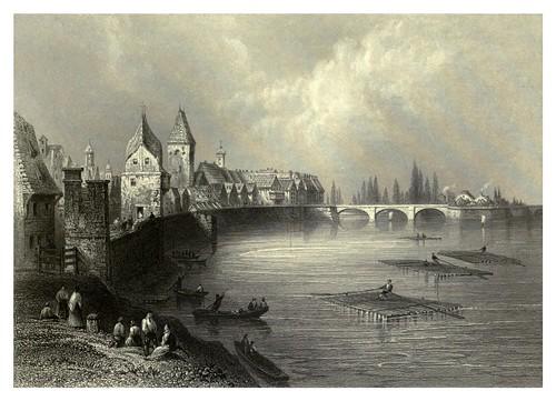 001-Murallas y puente de Ulm 1844