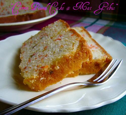 Carrot Pound Cake