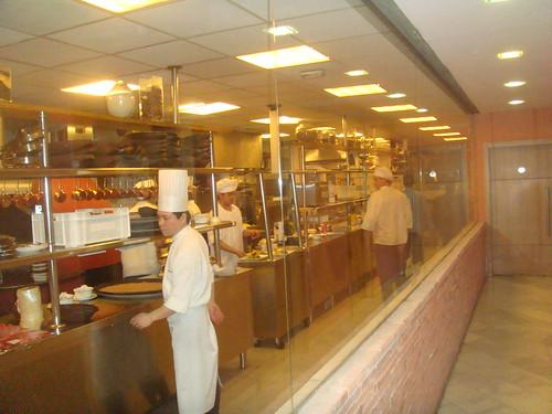 Detalle de cocina vista