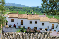 Ronda Homes (cwgoodroe) Tags: summer costa white hot sol beach del bells spain ancient europe churches sunny bull bullfighter adobe ronda moors walls washed clothesline protective newbridge roda bullring stonebridge oldbridge spainish whitehilltown rondah spanishdoors