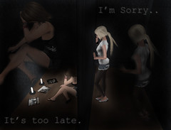 disaster ([MaiMai]) Tags: sorry dark pain hurt sad emo sl mai secondlife disaster lexi cisse meiler
