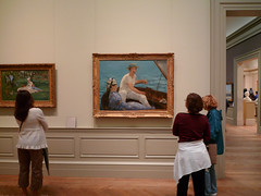 Manet's Boating at the Met.