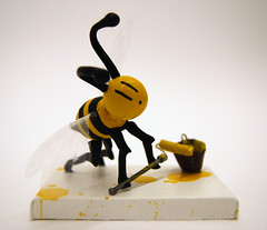 worker bee drip by bumblebee.....