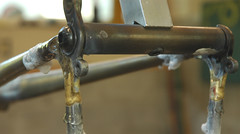 brazed to the dropouts (Boxer Bicycles) Tags: seattle steel rando frame custom sir realworld handbuilt lugs randonneur framebuilder boxerbicycles