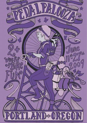 Portland Pedalpalooza 2009