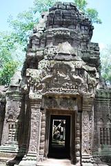 DSC_0585 (ASR Photos) Tags: tree tower abandoned stone temple mural ruins cambodia khmer buddhist roots buddhism jungle siem reap damage khan angkor wat buddah rubble preah overrun