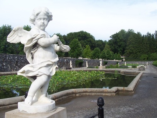 the italian gardens at biltmore estates