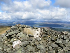 Carn Gorm, uncherished trig point (Jackie & Dennis) Tags: broken unloved trigpoint carngorm uncherished